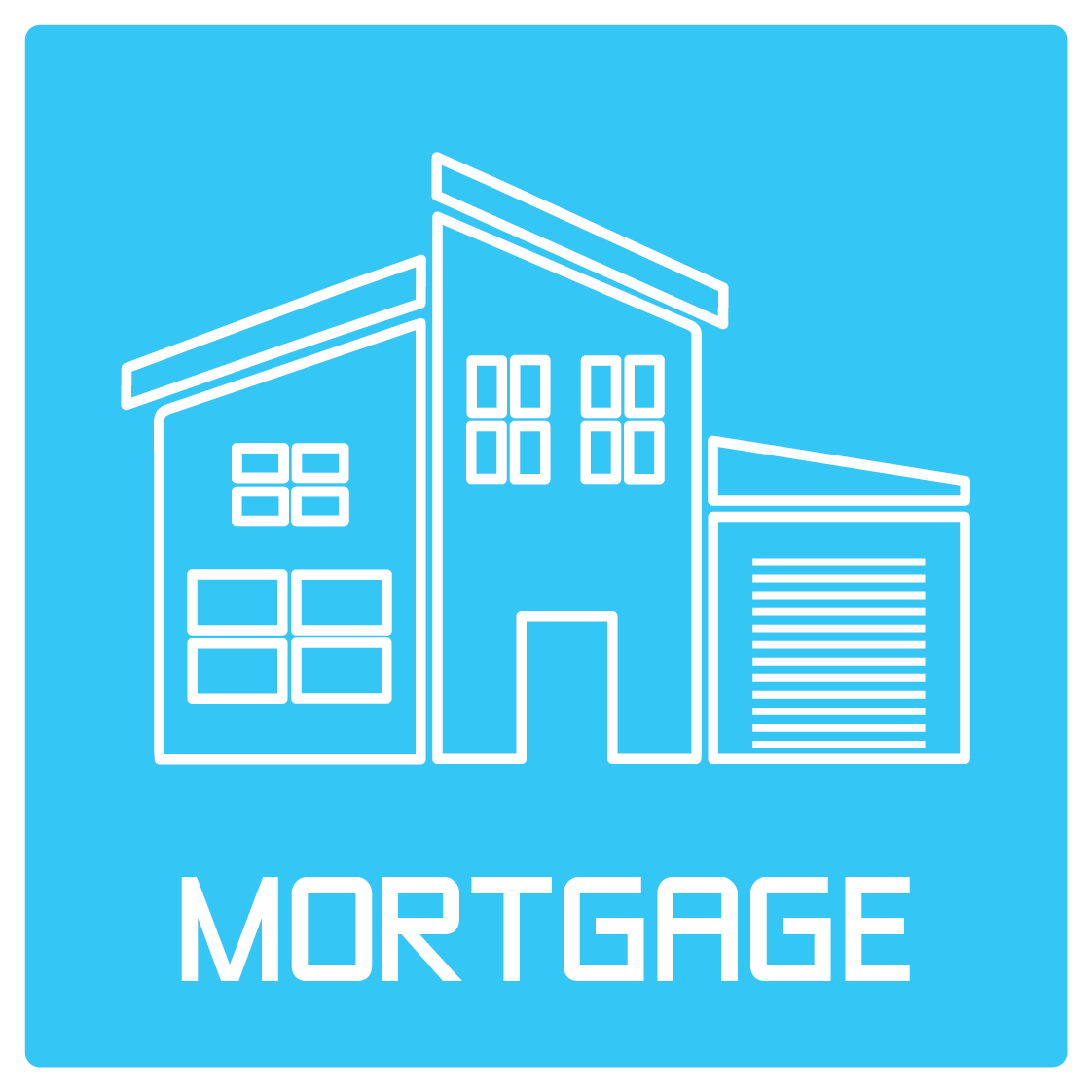 Icon and Text: Mortgage