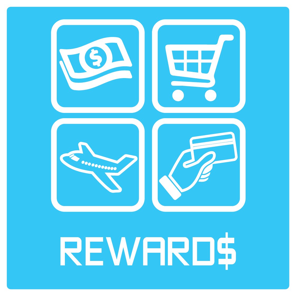 Icon and Text: Rewards